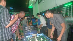 Smart Gilas plays Foosball